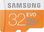 Samsung Evo 32 GB SDHC Class 10 48 MB/S Memory Card