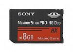Sony Memory Card Pro Duo HX 8GB MS-HX8B/T1 ET4