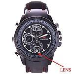 AGPtek KhuFiya Operation Imported from Taiwan Spy Wrist Watch Hidden Audio/Video Recording