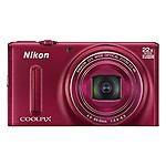 Nikon Coolpix S9600 Digital Camera - Black