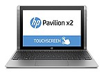 "HP Pavilion x2 10"" Intel Atom 2GB 32GB SSD - 2-in-1 Silver Notebook Pc"