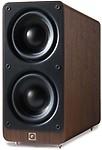 Q Acoustics 2070Si Subwoofer - Walnut Wired Home Audio Speaker