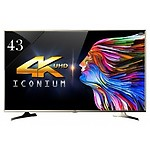 Vu 109cm (43inches) LED TV 43BU113 4k Ultra