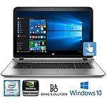 HP Pavilion 15.6-Inch HD TouchscreenGaming PC, Intel i7-6500U Dual Core Processor 12GB DDR4 1TB HDD NVIDIA GeForce 940MX Backlit Keyboard DVD/CD WIFI Bluetooth Win10
