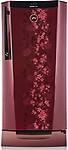 Godrej 212 L 5 Star Direct-Cool Single Door Refrigerator (RH EDGEDIGI 212PDS 6.2, Wine Spring)