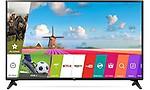 LG 109.3 cm (43 inches) 49LJ554T Full HD LED Smart TV (Ceramic)