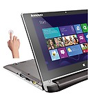 Lenovo Flex 10 Notebook (59-439199) (4th Gen Intel Celeron Dual Core- 2gb Ram- 500gb Hdd- 10.1 Inches Touch- Windows 8.1)