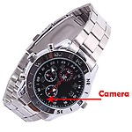AGPtek KhuFiya Operation Still Wrist Watch Camera Inbuild 16GB Memory