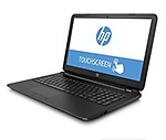 "HP 15.6"" HD Touchscreen, Intel Quad-Core Pentium N3540 Processor, 4GB RAM, 500GB HDD, SuperMulti DVD Burner, Webcam, HDMI, Wi-Fi, USB 3.0, Windows 10 Home"