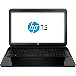 """HP 15-d076nr 15.6"""" LED (BrightView) Notebook AMD A-Series A6-5200 2GHz F5Y39UA#ABA"""