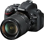 Nikon D5200 (Body with 18 - 140 mm VR DX Lens) DSLR Camera