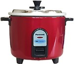 Panasonic SRWA10-GE9-BURGANDY Electric Rice Cooker(1 L, Burgandy)