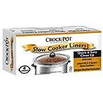 Crockpot Slow Cooker Liner - 4 liners 13In x 20.30In