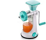 LEVERET Hand Juicer for Fruits and Vegetables with Steel Handle Vacuum Locking System,Shake, Smoothies, Travel Juicer for Fruits and Vegetables,Fruit Juicer for All Fruits,Juice Maker Machine (Multi)