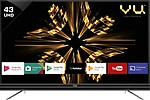 Vu Official Android 109cm (43 inch) Ultra HD (4K) LED Smart TV (43SU128_V1)