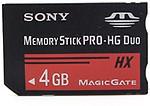 Sony SDHC Memory Card 4 GB