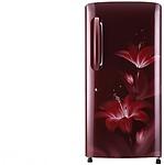 LG 215 L Direct Cool Single Door 4 Star Refrigerator ( GL-B221ARGX)