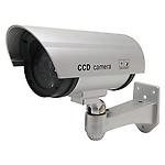 Cheshta Looking Dummy/Fake IR Security CCTV Bullet Camera with Red Flashing LED Light