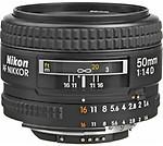 Nikon AF 50mm Lens F1.4d