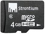 Strontium Micro SD 4GB Class 6