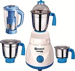 Sunmeet Fresh Series 750 Watts Mixer Grinder With 4 Jar Factory Outlet