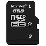 Kingston 8 GB Micro SDHC Memory Card Class 4 (Pack Of 4)