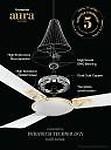 Crompton Aura2 Prime Anti Dust 48 inch Ceiling Fan