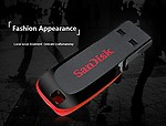 SanDisk ShopyBucket Cz50 USB Flash Drive USB 2.0 Support Official Verification Pendrive, 16GB and 32GB - Pack of 2