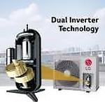 LG 1.5 Ton 5 Star Split Dual Inverter AC (MS-Q18UVZA, Copper Condenser)