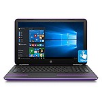 "HP 15-au097 Sleek Touchscreen Intel i5 up to 2.8GHz 8GB 1TB 15.6"" HD WLED Webcam DVD+/-RW B&O (Sporty)"