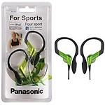Panasonic Sports Gym Earphone Headphone for iPods, MP3 RP-HS33E-K