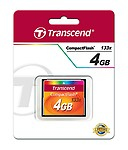 Transcend Ts4gcf133x 4gb Compact Flash