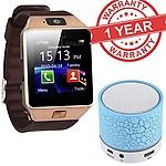 Premium Design SAMSUNG Galaxy S7 Edge Compatible Bluetooth Smart Watch DZ09