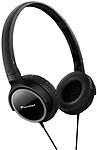 Pioneer Fully Enclosed Dynamic Headphones Se-Mj512-K Headphones