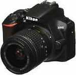 Nikon D3500 (with AF-P 18-55mm VR Kit Lens) DSLR Camera with 16GB Card and Carry Case