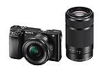 Sony Alpha A6000Y 24.3MP Digital SLR Camera with 16-50 & 55-210mm Lens (ILCE-6000Y)