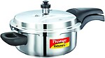 Prestige Deluxe Alpha Stainless Steel Pressure Cooker, 3 Litres