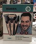 Kubra KB-2016 Mens 3 in 1 Trimmer (Trimmer+ Clean Shave + Nose Trimmer)