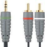 Bandridge BAL3401 3.5 mm Stereo M 2 x RCA M 1 m