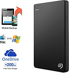 Seagate Backup Plus Slim 1 TB Wired HDD External Hard Drive
