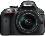 Nikon D3300 DSLR Camera (Body with AF-P DX NIKKOR 18 - 55 mm F3.5 - 5.6 VR Kit Lens)