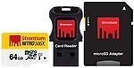 Strontium Nitro UHS 566X64 GB Memory Card