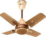 Orient Quasar Ornamental Chocolate 600 mm 4 Blade Ceiling Fan