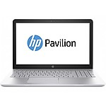 "HP Pavilion-15-cc134Tx ( Intel Core i7-8550U Processor @1.8 GHz/8GB/2TB Sata /15.6""/Windows 10 Home / NVIDIA GeForce 4 GB dedicated/Silver /2.02Kg/Microsoft Office H&S Lifetime Version.)"