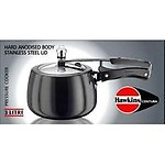 Hawkins Contura Hard Anodized Induction Compatible Extra Thick Base Pressure Cooker, 3L