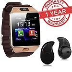 Premium Design SAMSUNG Galaxy Core Prime Compatible Bluetooth Smart Watch DZ09