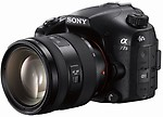 Sony ILCA-77M2Q Mirrorless Camera Body + 16 - 50 mm Zoom Lens