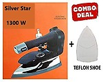 Best Silver Star 1300W 220V Industrial Electric Steam Iron ES-300L