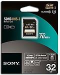 Sony 32 GB Micro SDHC Memory Card Class 10