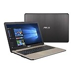 Asus X541NA-GO121T 15.6-inch (Pentium Quad Core N4200 CPU / 4GB Ram / 1TB HDD / Win10/), Black With 1 Yrs Warranty By Asus India Service Center